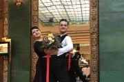 Baden-Baden - Eugen und Bianca Cosma feiern den Aufstieg in die dritthöchste Turnierklasse
